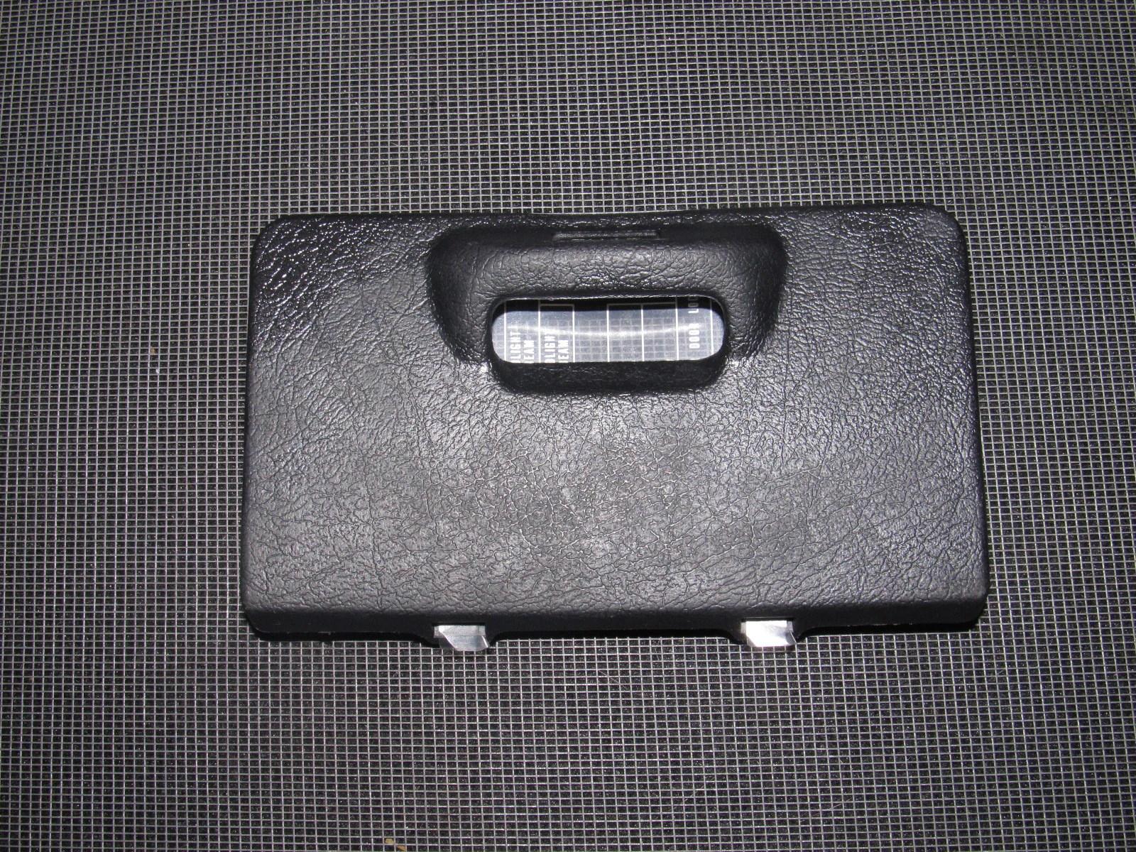 honda del sol oem interior fuse box cover product image  [ 1600 x 1200 Pixel ]