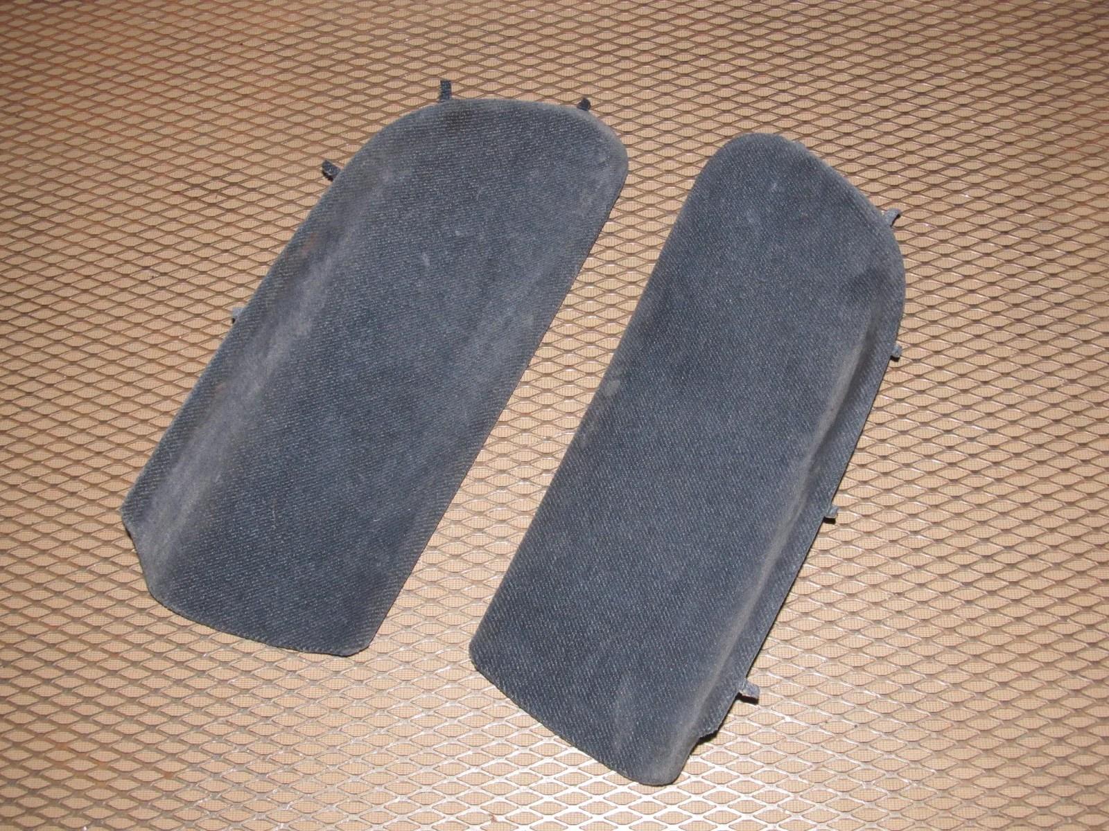 92 96 honda prelude oem interior rear quarter panel insert cloth cover  [ 1600 x 1200 Pixel ]