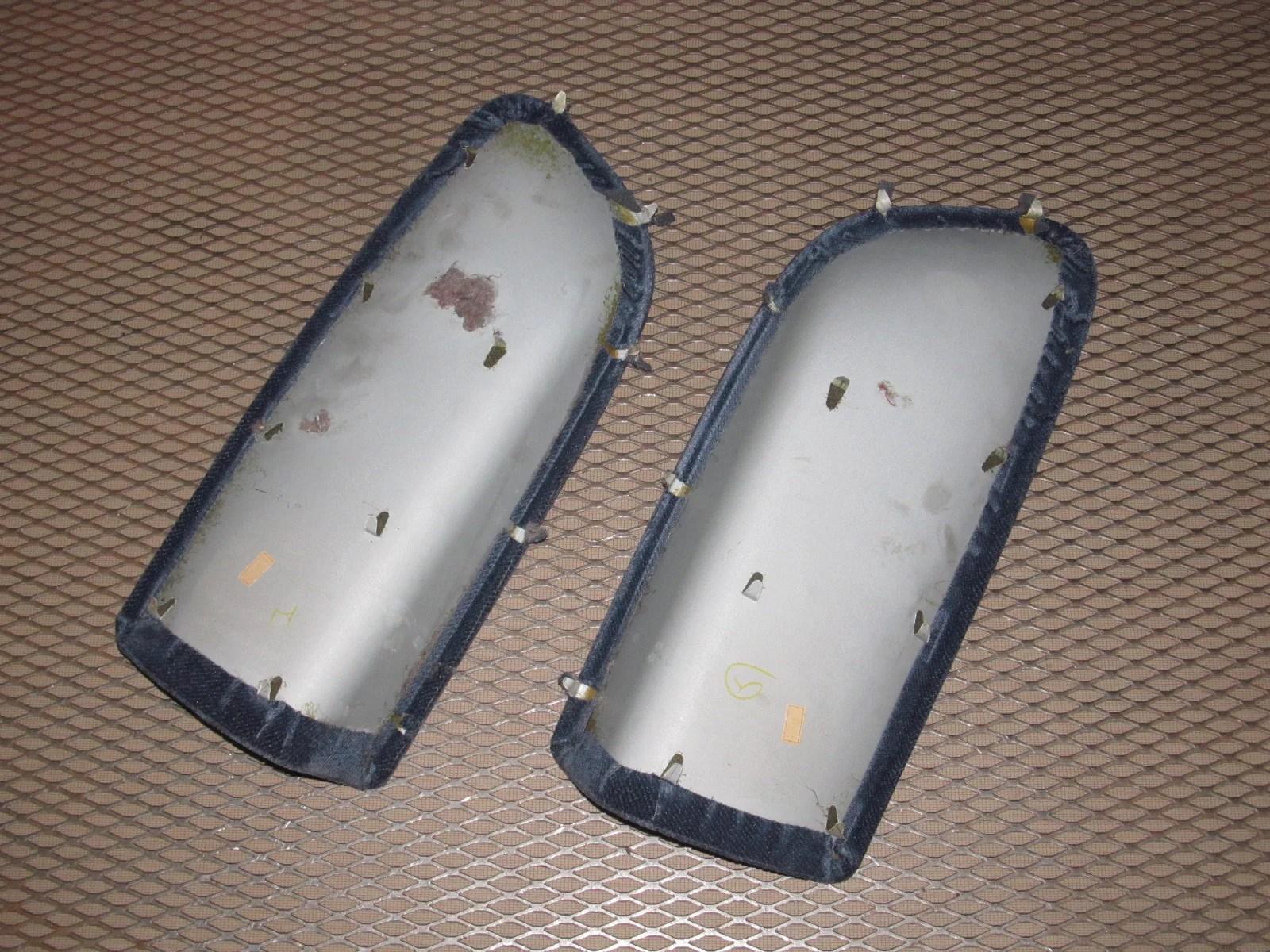 medium resolution of  92 96 honda prelude oem interior rear quarter panel insert cloth cover