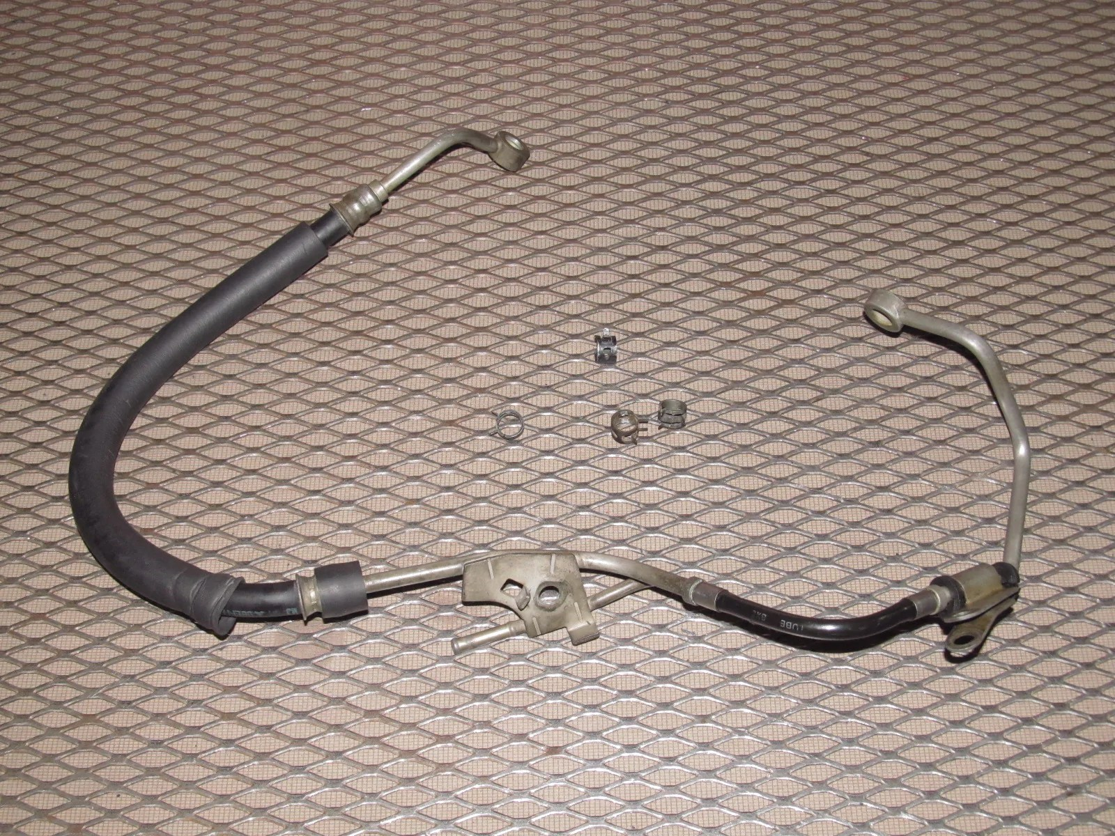 small resolution of  91 92 93 94 95 toyota mr2 oem fuel filter rail line hose 5sfe
