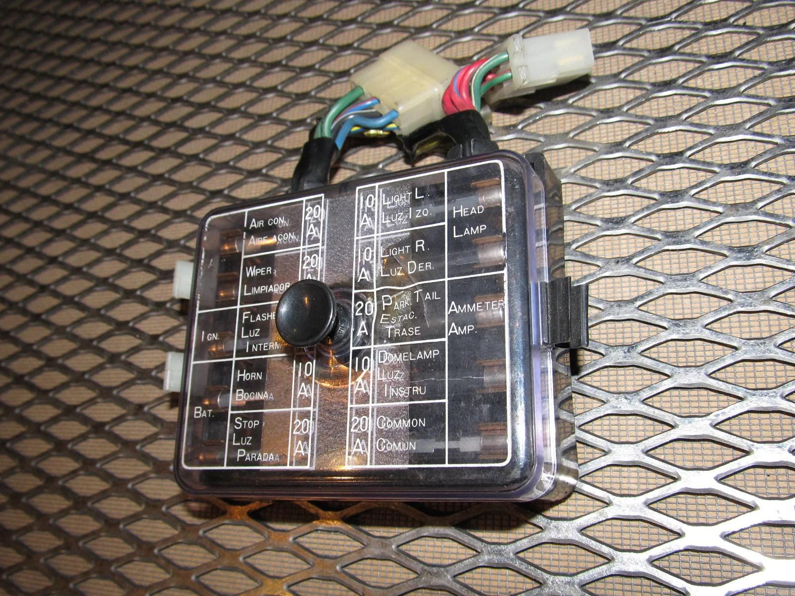 72 73 datsun 240z oem interior fuse box  [ 1600 x 1200 Pixel ]