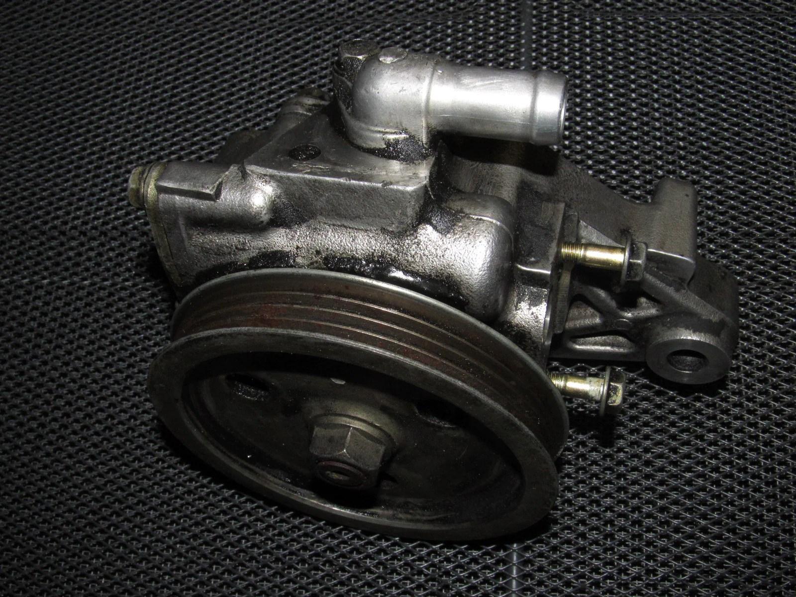 small resolution of 92 93 94 95 honda civic oem d15b7 power steering pump