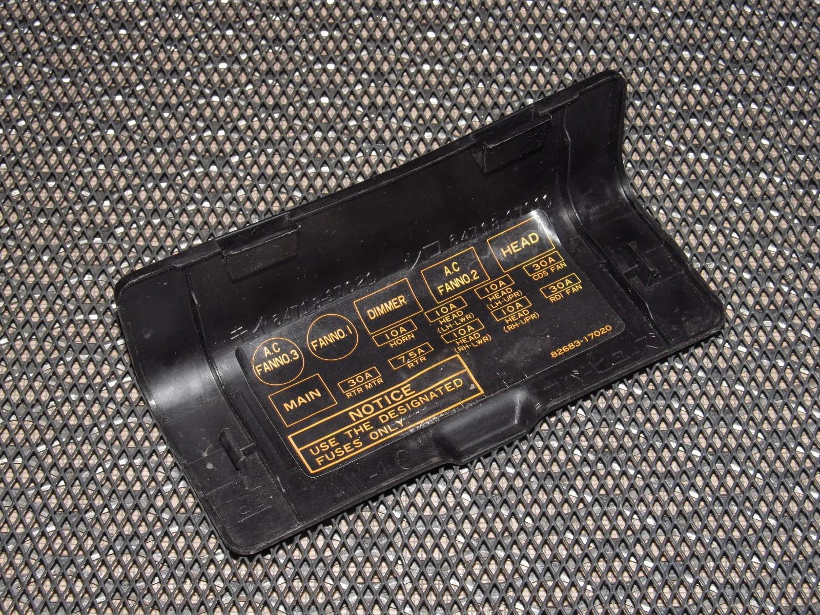 hight resolution of 1991 toyotum mr2 fuse box wiring uk