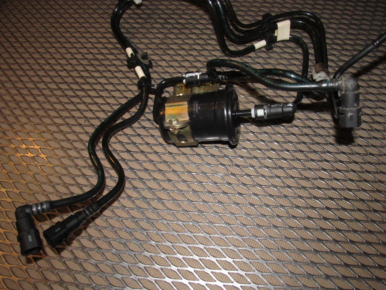 small resolution of  99 00 mazda miata oem gas tank fuel filter line assembly