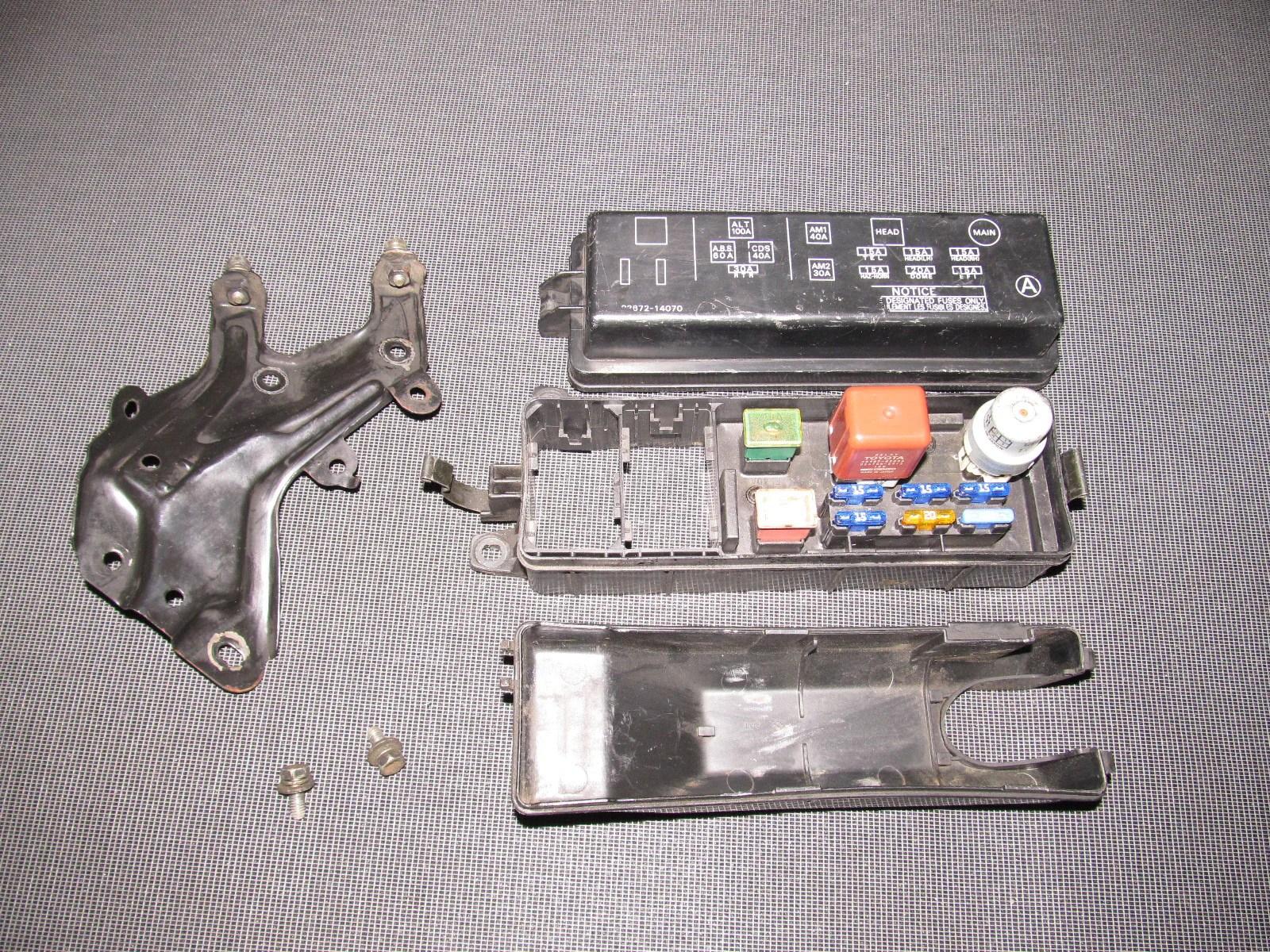 89 corolla fuse box wiring library89 90 91 92 toyota supra oem engine fuse box autopartone [ 1600 x 1200 Pixel ]