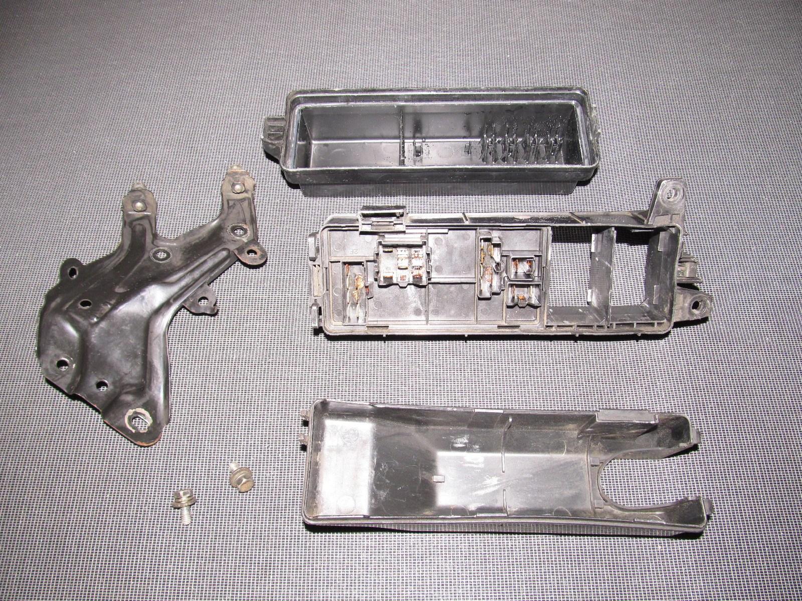 medium resolution of 89 90 91 92 toyota supra oem engine fuse box autopartone com 1987 toyota supra fuse