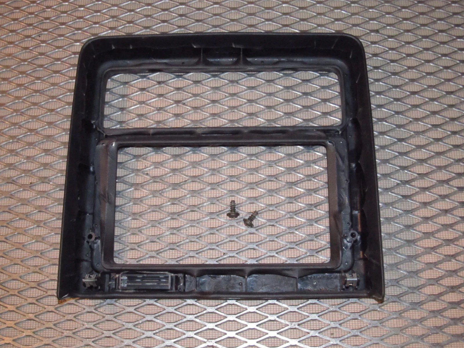 small resolution of  87 88 89 toyota mr2 oem dash center radio climate control bezel cover
