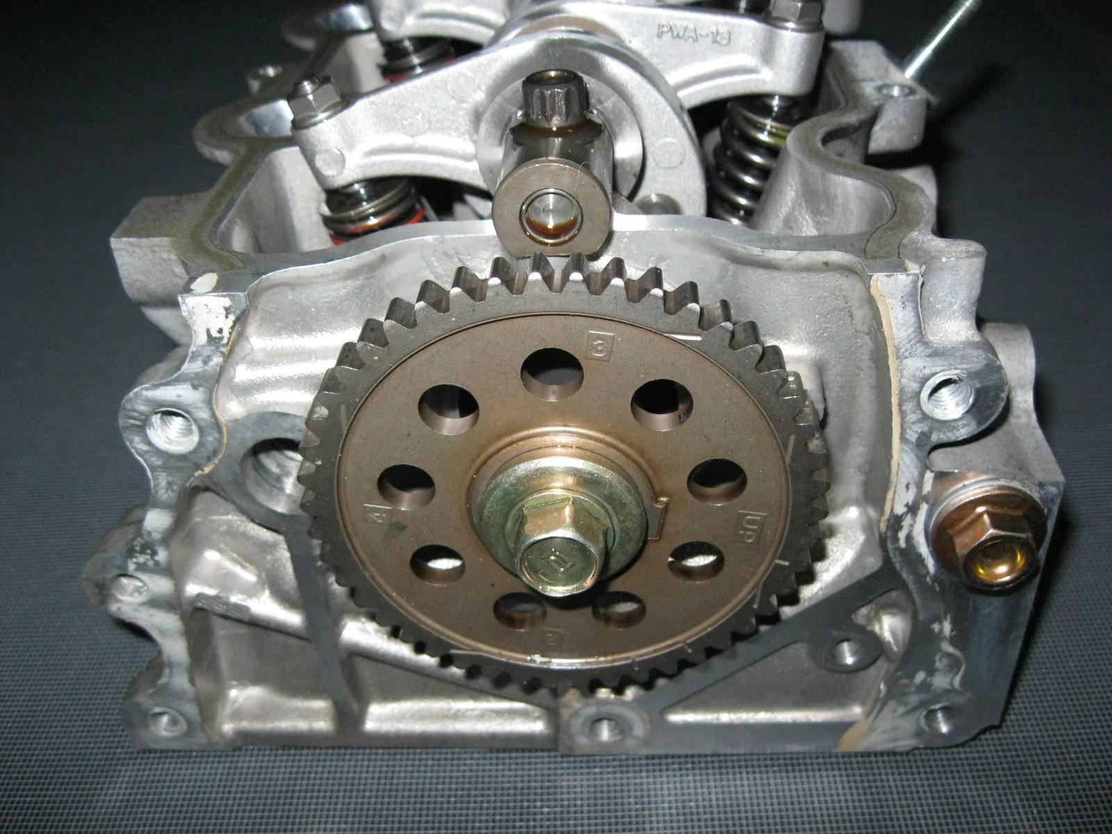 medium resolution of  jdm 01 08 honda fit l13a i dsi engine cylinder head