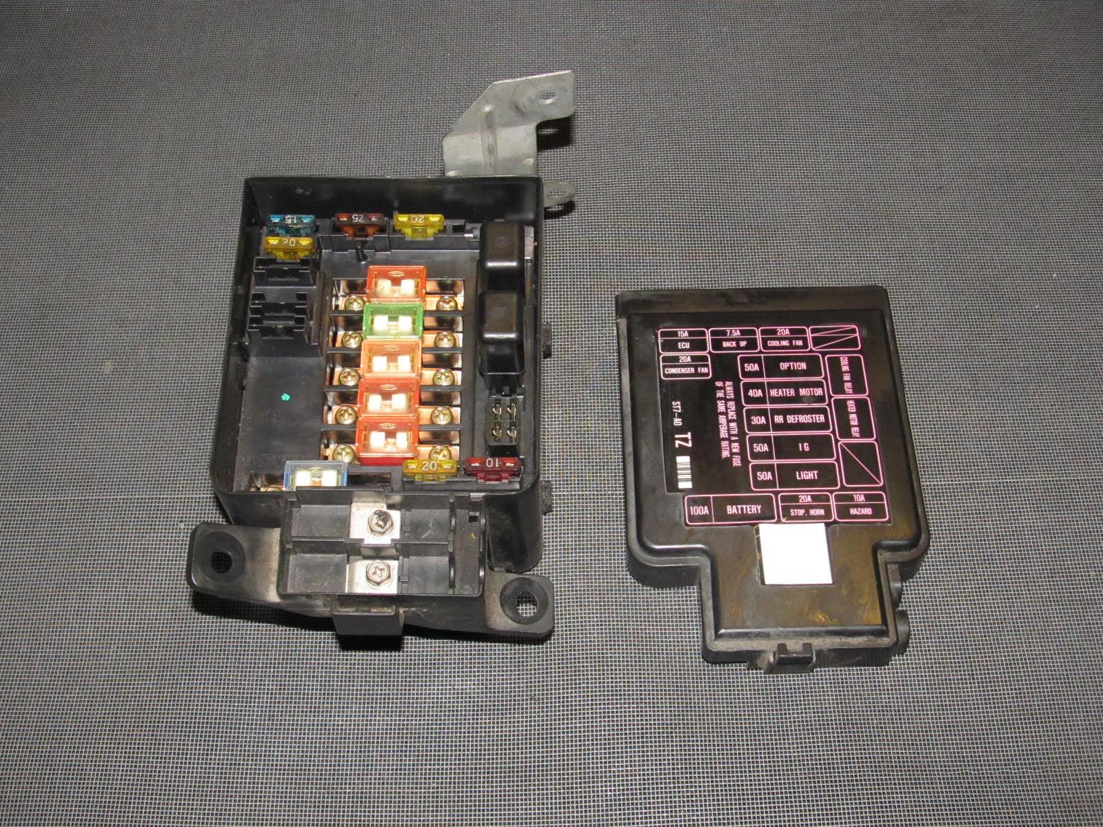 94 95 96 97 98 99 00 01 acura integra oem engine fuse box  [ 1600 x 1200 Pixel ]