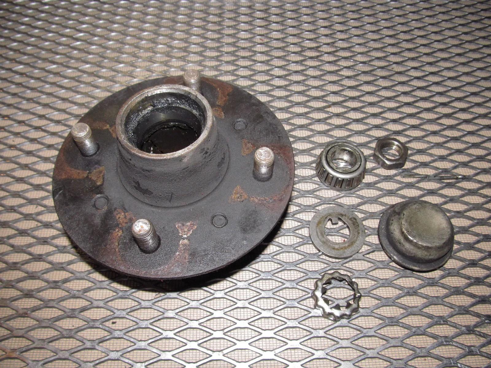 medium resolution of  79 80 datsun 280zx oem front wheel hub bearing