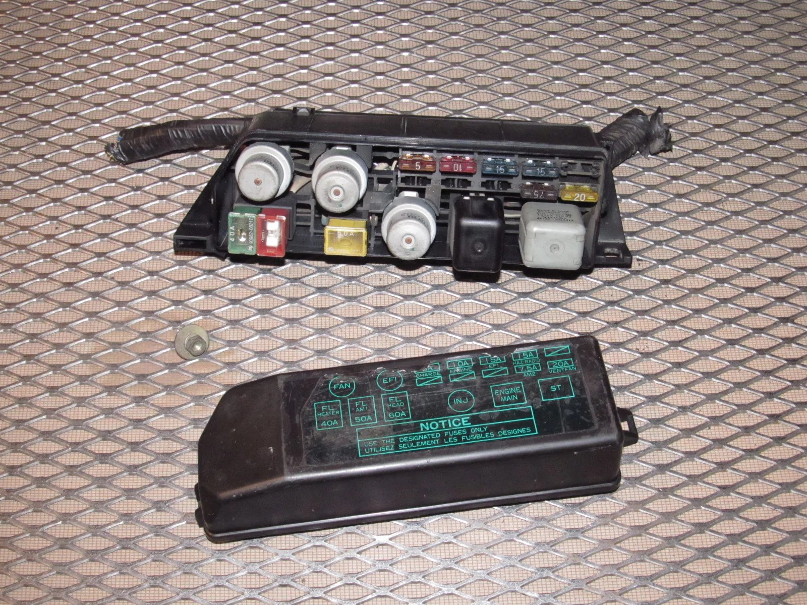 hight resolution of  toyota mr2 oem engine fuse box product image
