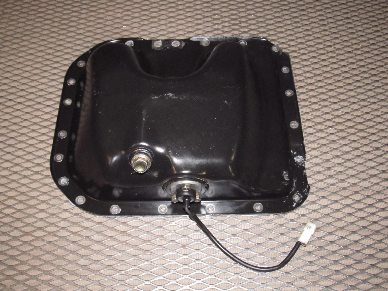 mazda rx7 oem engine oil pan product image  [ 1600 x 1200 Pixel ]