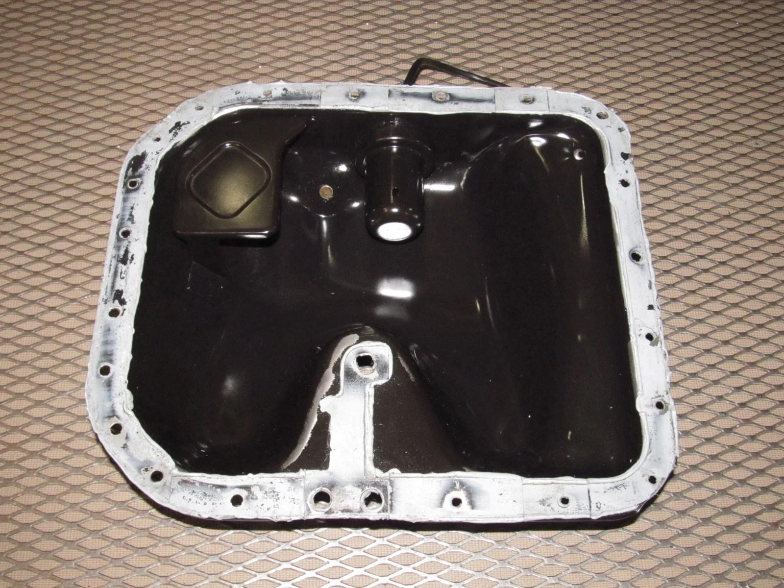 89 90 91 mazda rx7 oem engine oil pan [ 1600 x 1200 Pixel ]