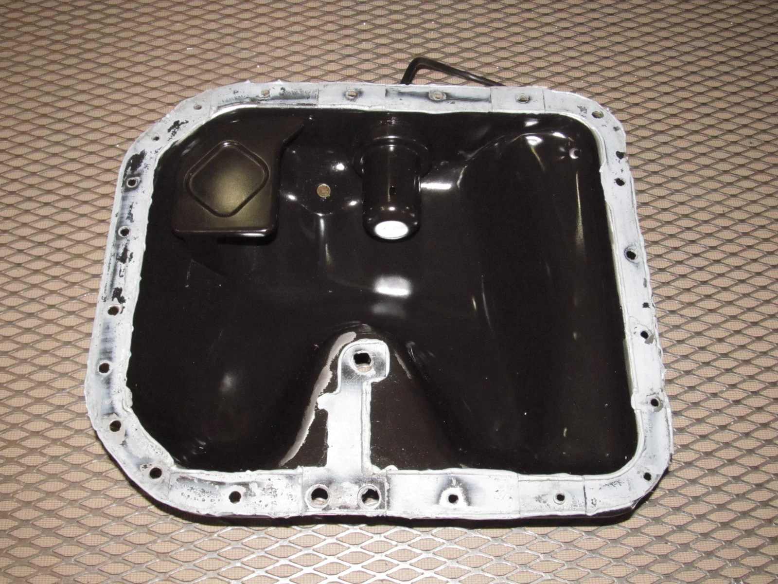 hight resolution of  89 90 91 mazda rx7 oem engine oil pan