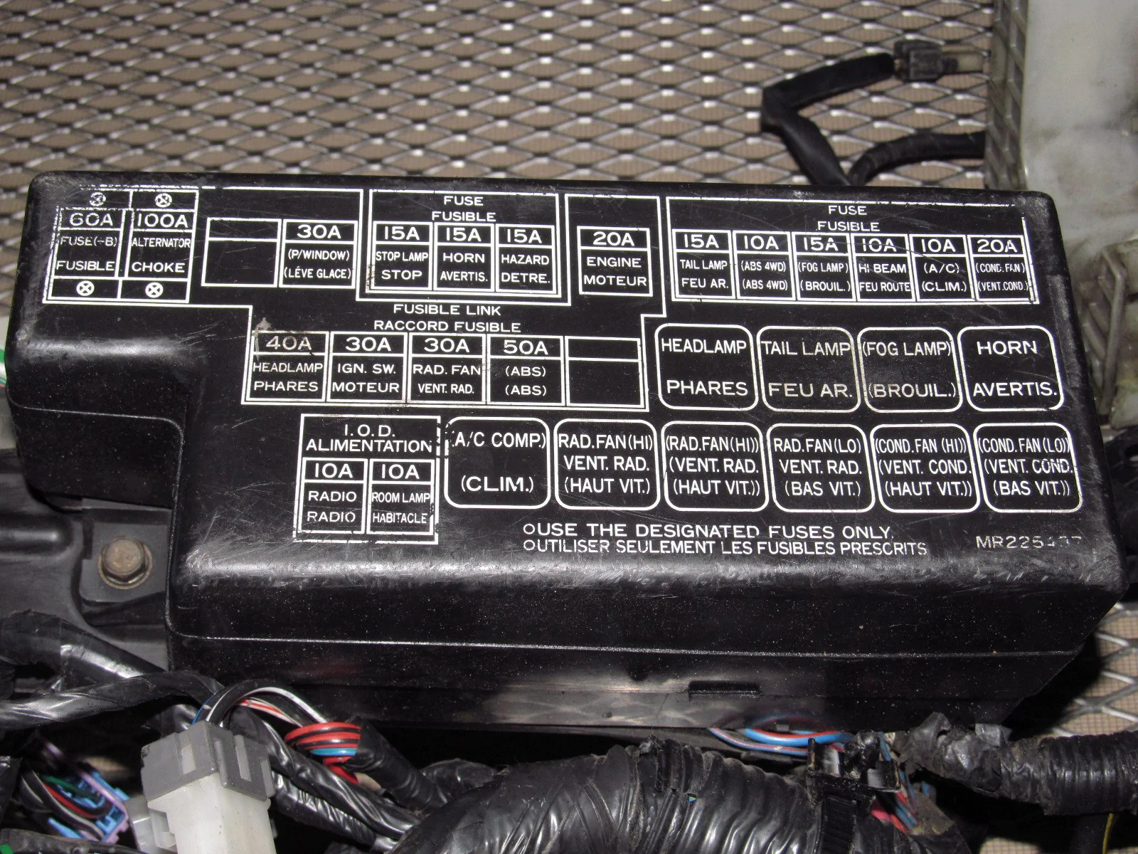 1999 Mitsubishi Eclipse Radio Wiring Diagram