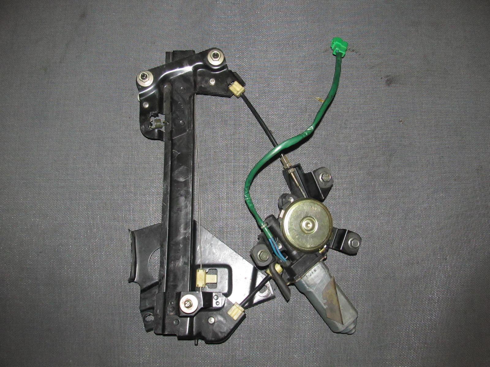medium resolution of  92 97 subaru svx oem power window motor regulator rear driver side