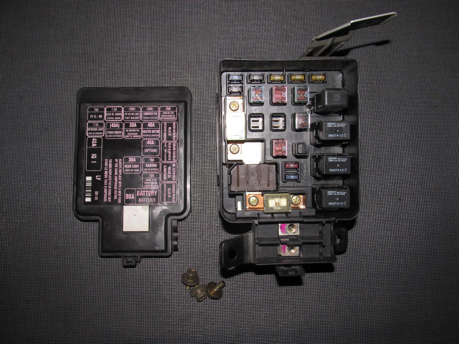 hight resolution of 98 civic fuse box wiring diagram show 1998 honda civic cx fuse box 1998 honda civic fuse box