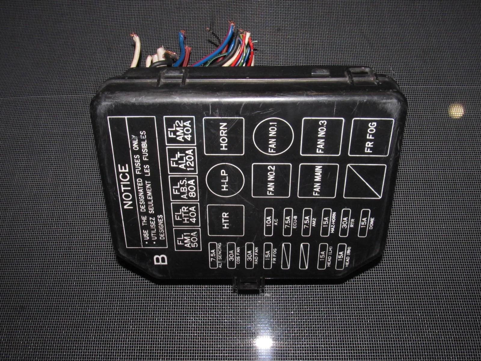 medium resolution of  toyota mr2 oem interior fuse box product image