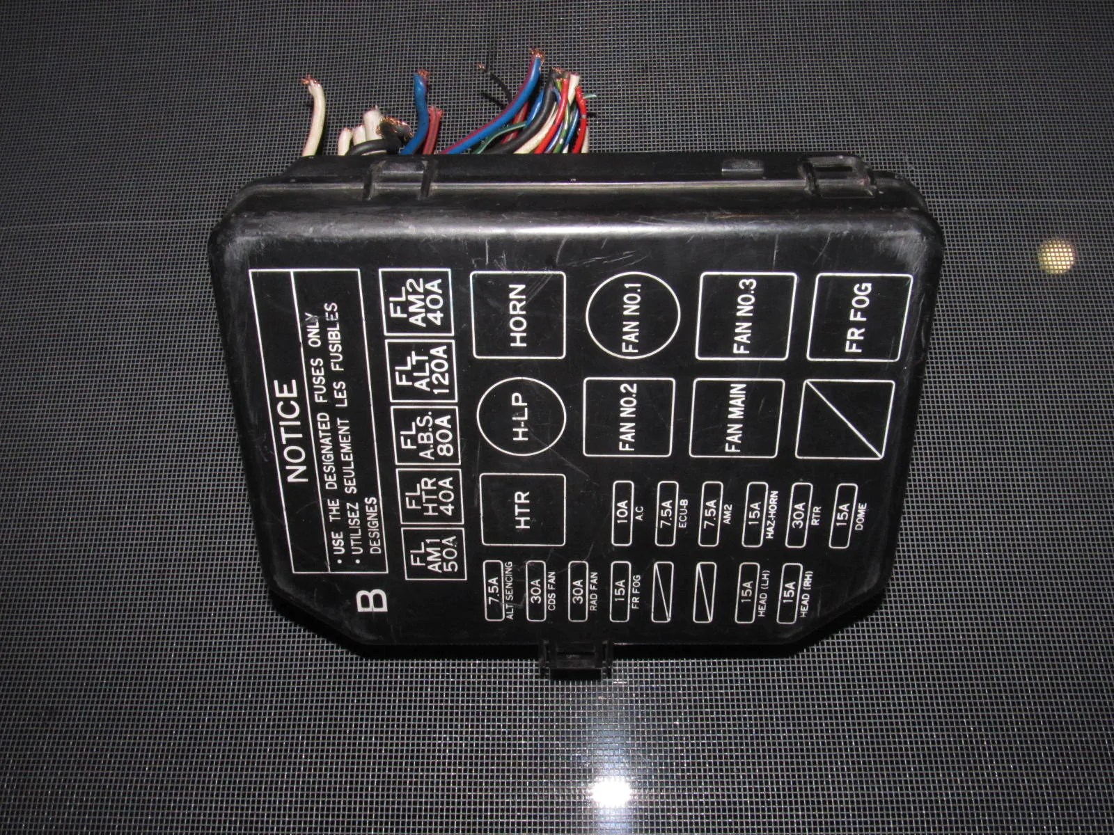 small resolution of  toyota mr2 oem interior fuse box product image