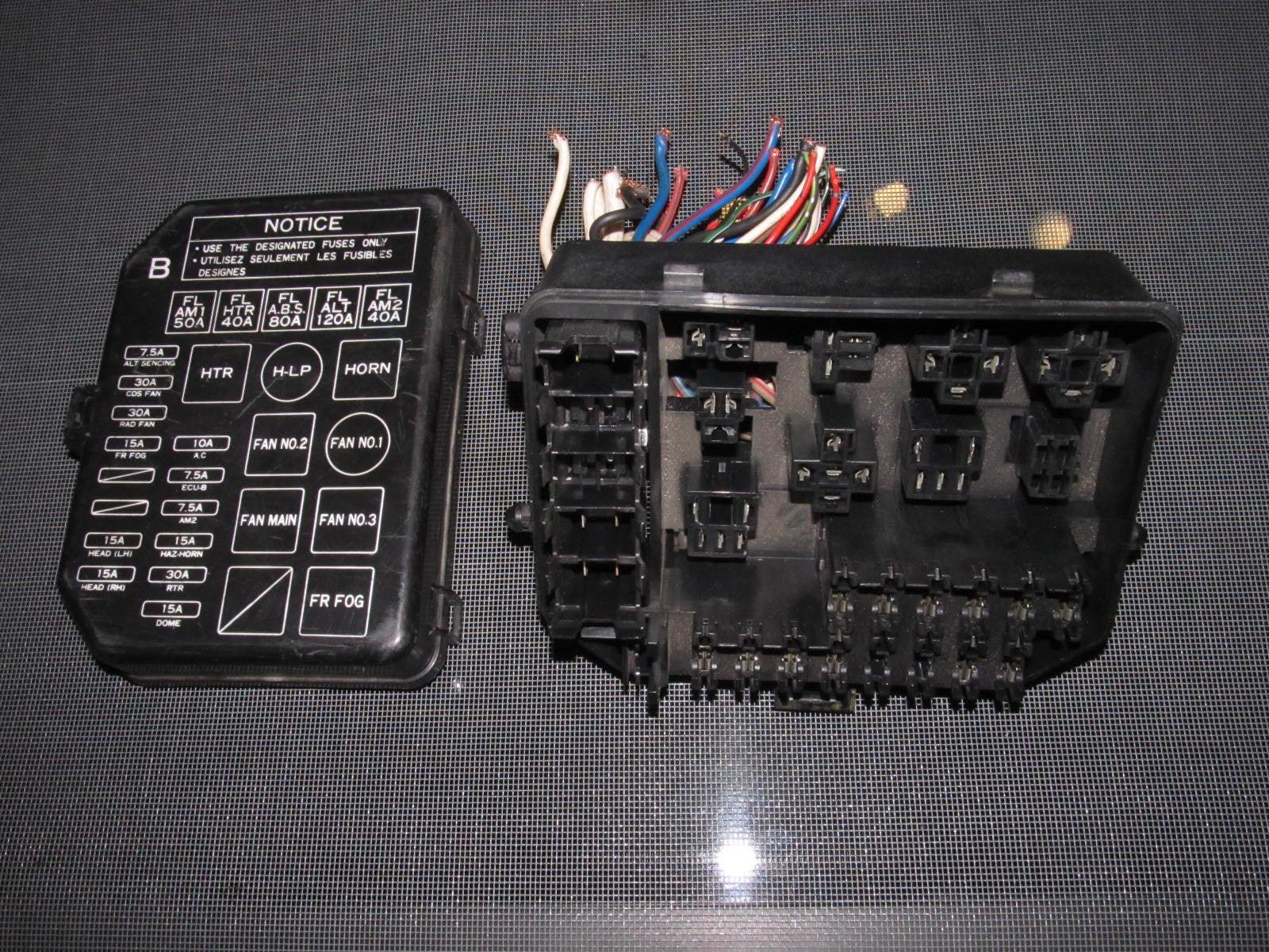 small resolution of  91 95 toyota mr2 oem interior fuse box