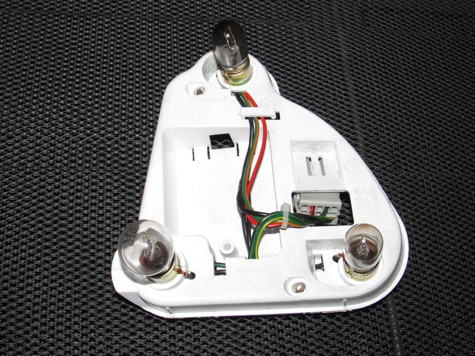 honda prelude oem tail light bulb socket panel right product image  [ 1600 x 1200 Pixel ]