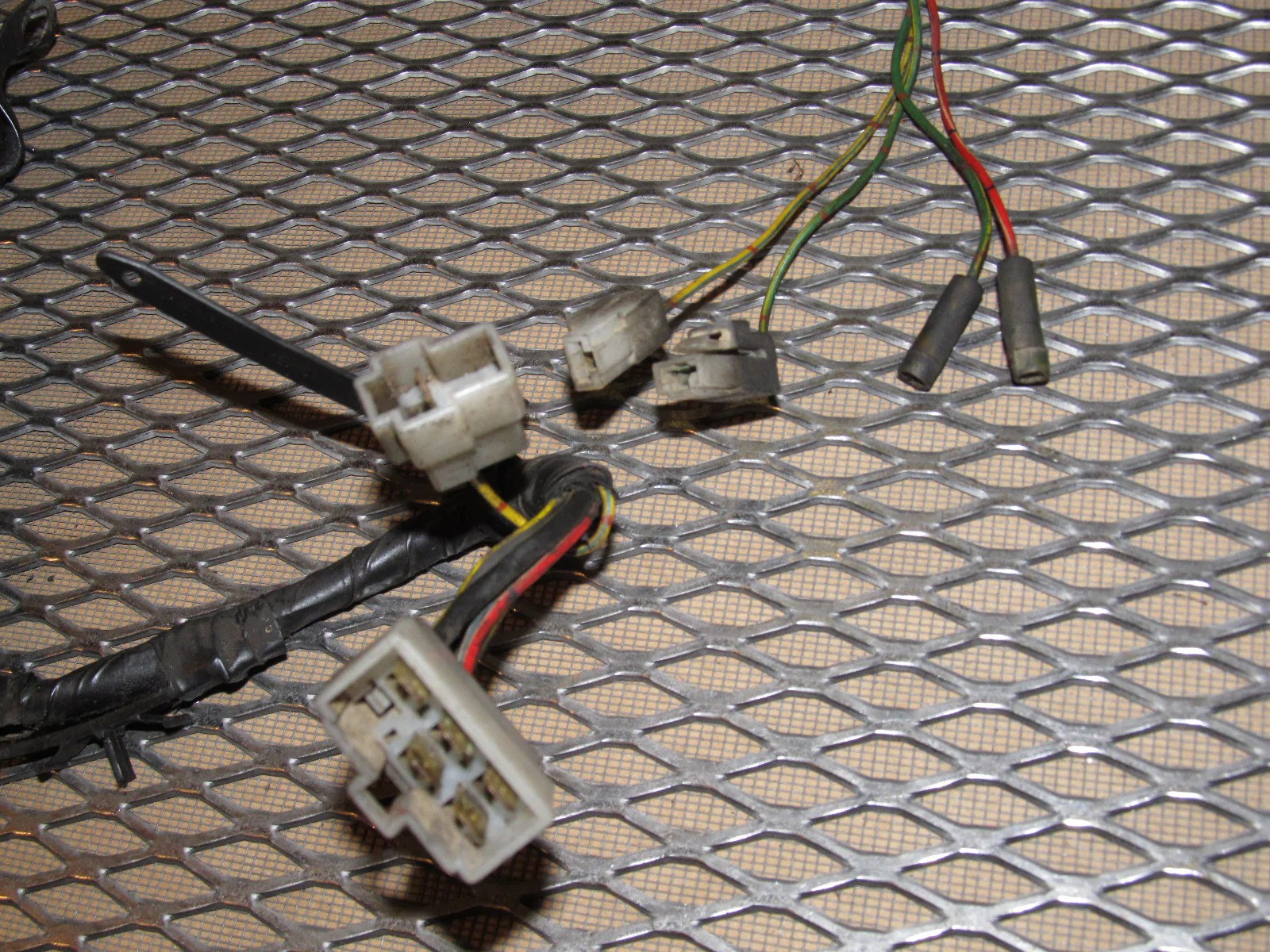 small resolution of  84 85 mazda rx7 oem m t transmission wiring harness 12a
