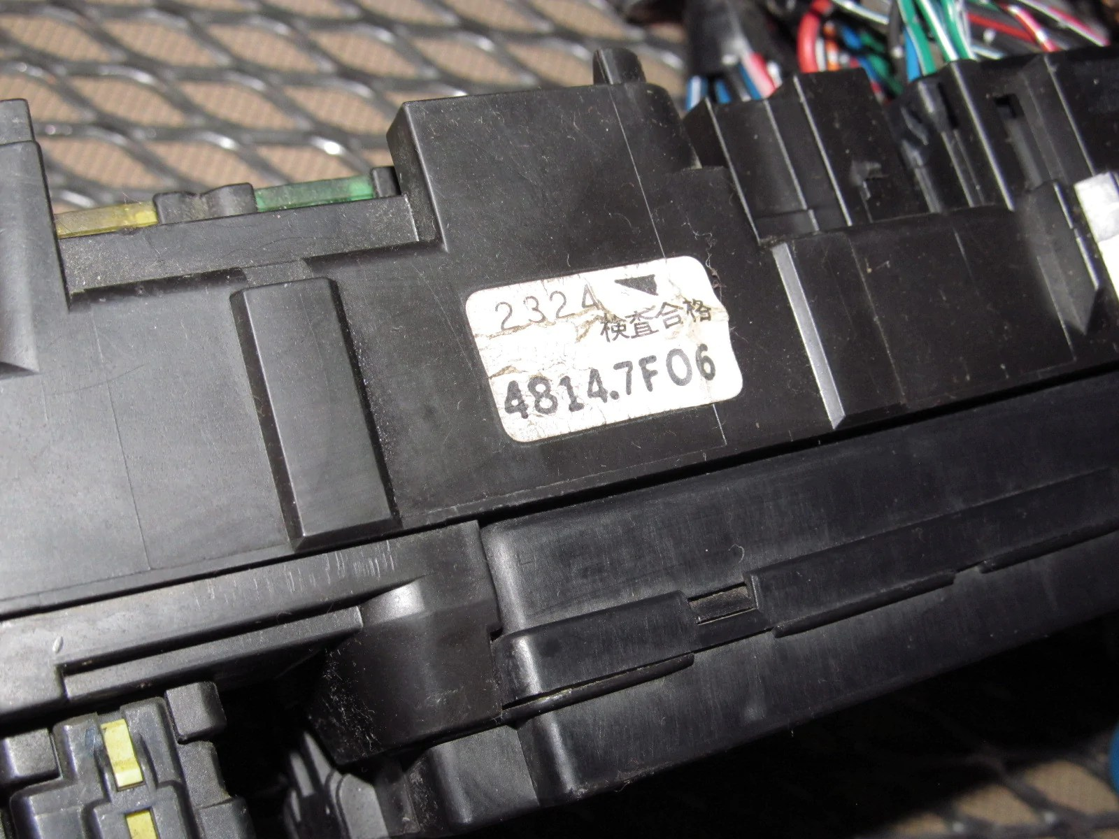 hight resolution of  97 98 99 mitsubishi eclipse oem interior fuse box