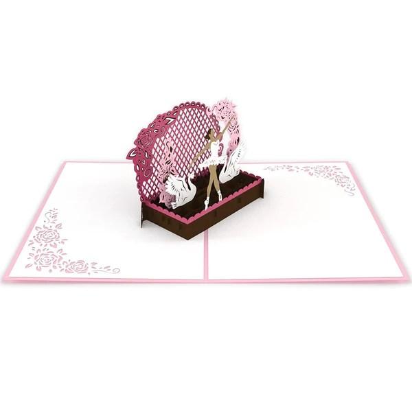 Ballerina Pop Up Dance Card Lovepop