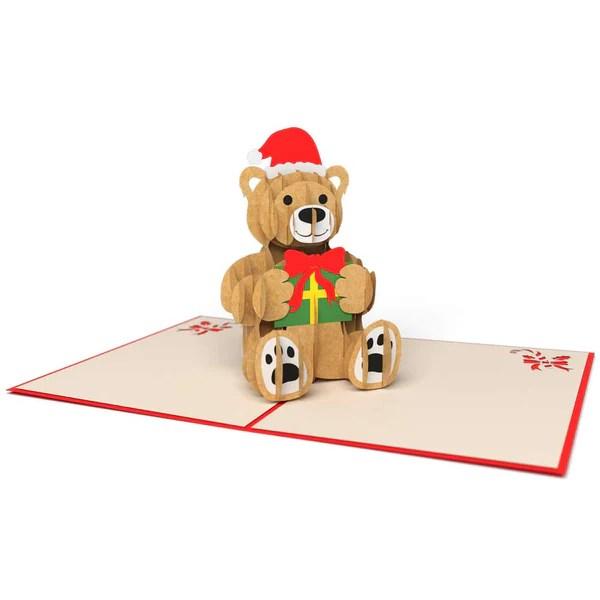 Christmas Bear Pop Up Card Lovepop