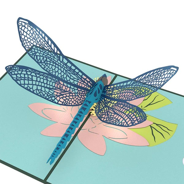 Dragonfly Pop Up Card Lovepop