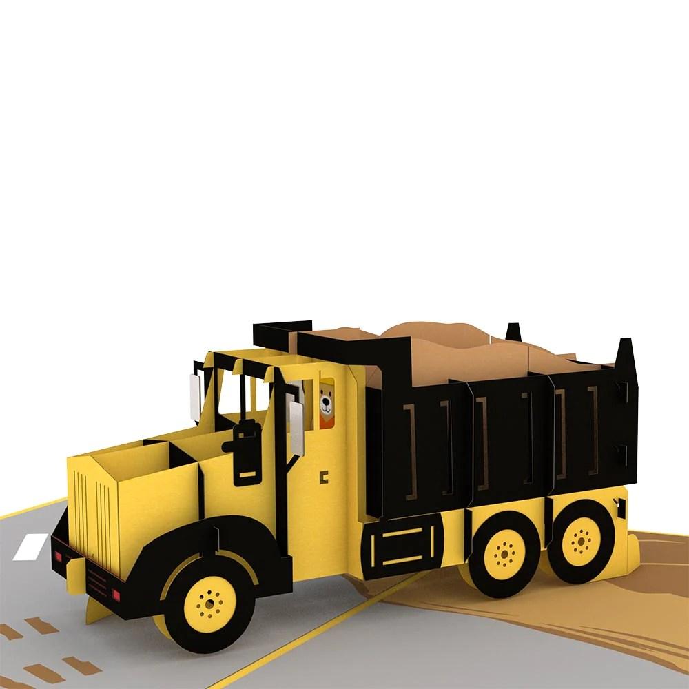 dump truck pop up