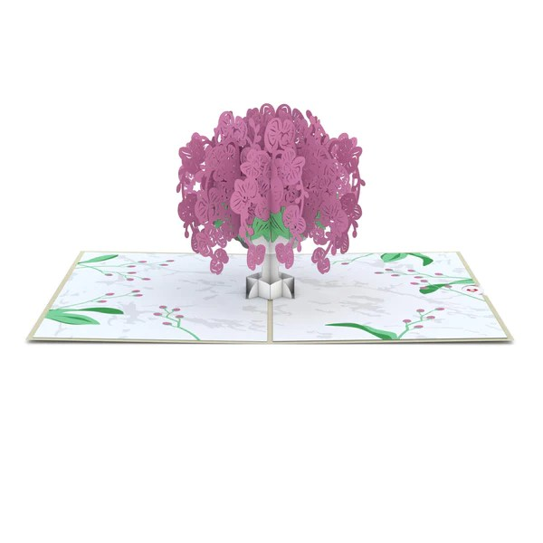 Orchid Bouquet Pop Up Card Lovepop