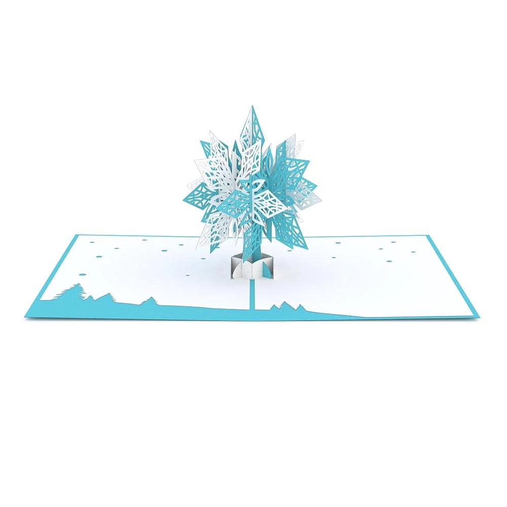 Snowflake 20 Pop Up Card Lovepop
