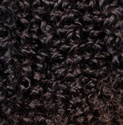 2 Dark Brown Clipin Curly Hair Extensions Kinky Bella