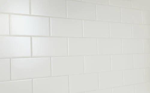 4x8 white subway tile matte
