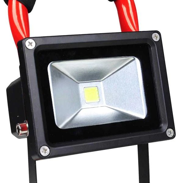 10w portable rechargeable led