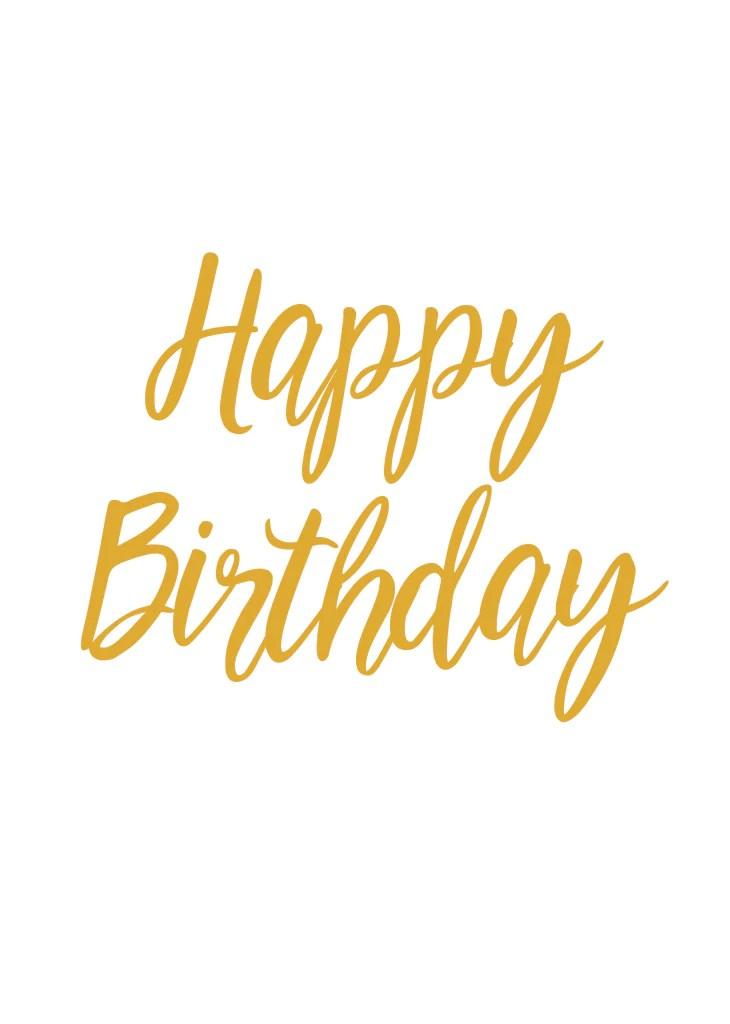 party banner happy birthday