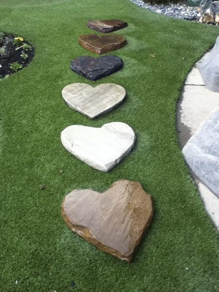 Heart Stepping Stones Sutherland Landscape Center