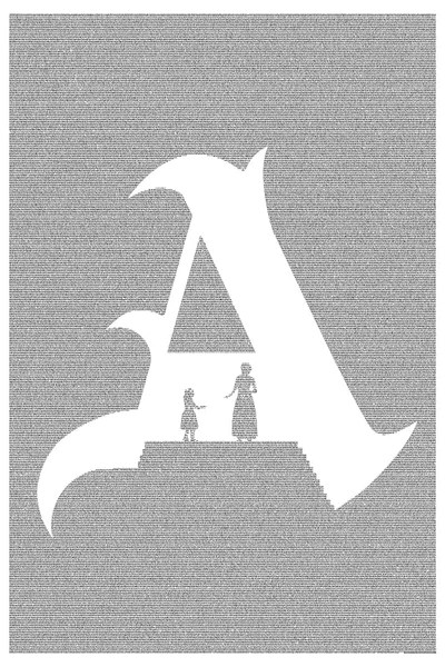 The Scarlet Letter Poster  Made with Text  Postertext