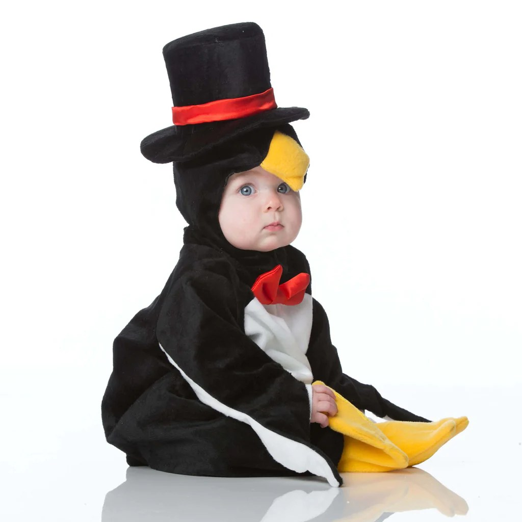 Baby Penguin Dress Costume 2 Years Time