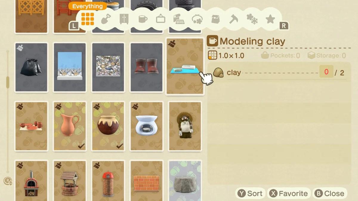 Buy All Clay Diy Recipes Animal Crossing Nooks Treasures