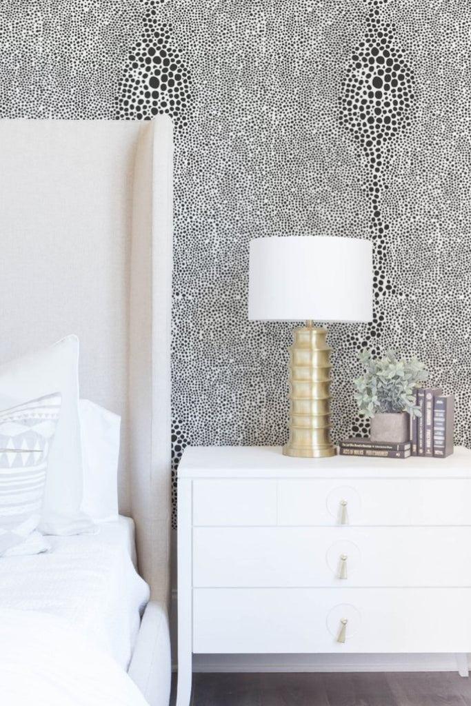 Shagreen - Jet Black Wallpaper