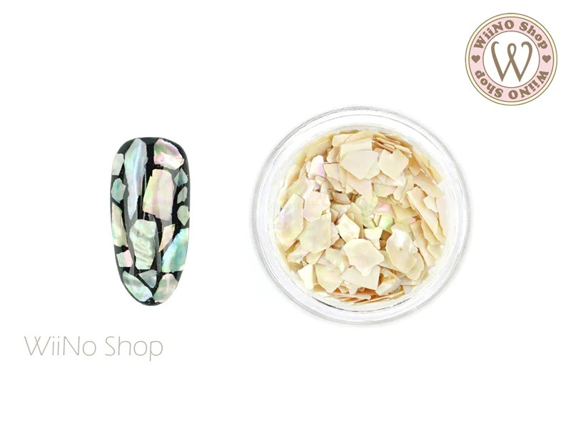 natural ivory abalone chips crushed