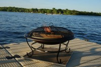 Deck Protect Fire Pit Mat | Sunset Fire Pits
