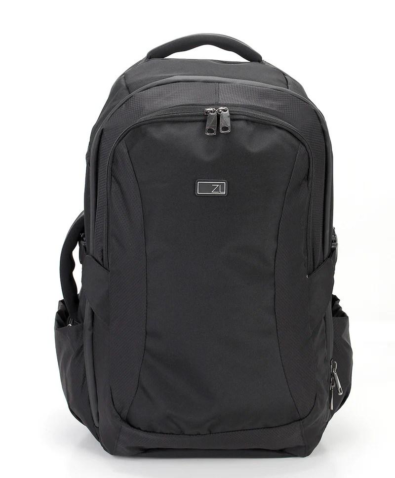 Road Warrior Travel Carryon Backpack - Black Zoomlite