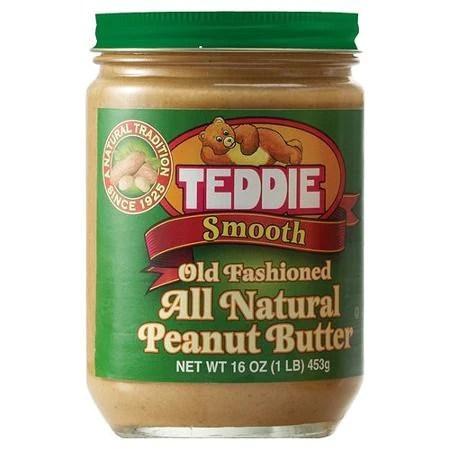 Teddie All Natural Creamy Peanut Butter Smooth  Shaw Farm