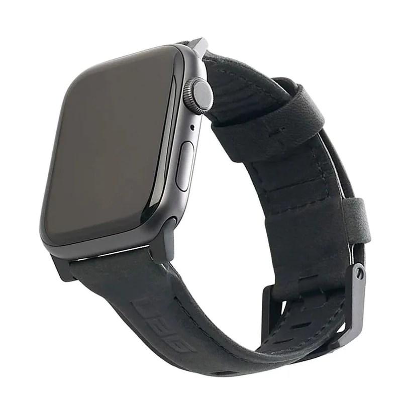 UAG Leather Apple Watch 42/44mm 皮革錶帶 – Productpro 百得好