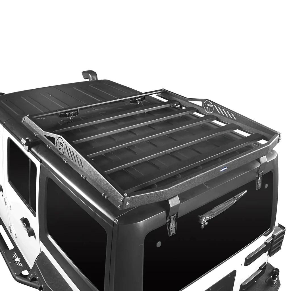 jeep jk roof rack cargo carrier rack