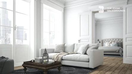 Simple Minimalist Apartment Design Zoom Backgrounds thezoombackgrounds com
