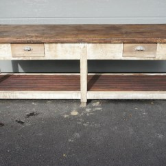 Kitchen Console Buy Hood Table Island Work Bench Vintage French